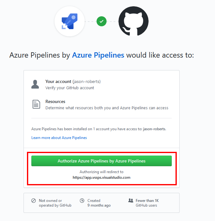 Authorize Azure Pipelines