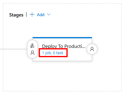Editing Azure Pipeline release stage tasks