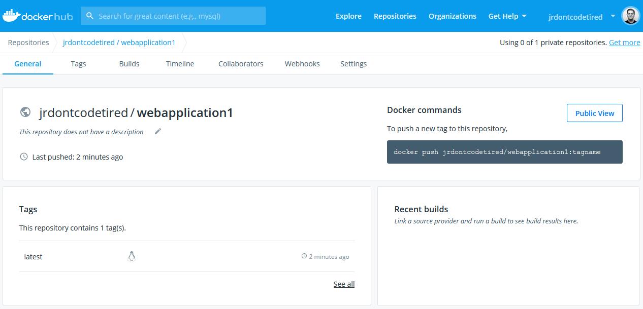 Docker Hub image