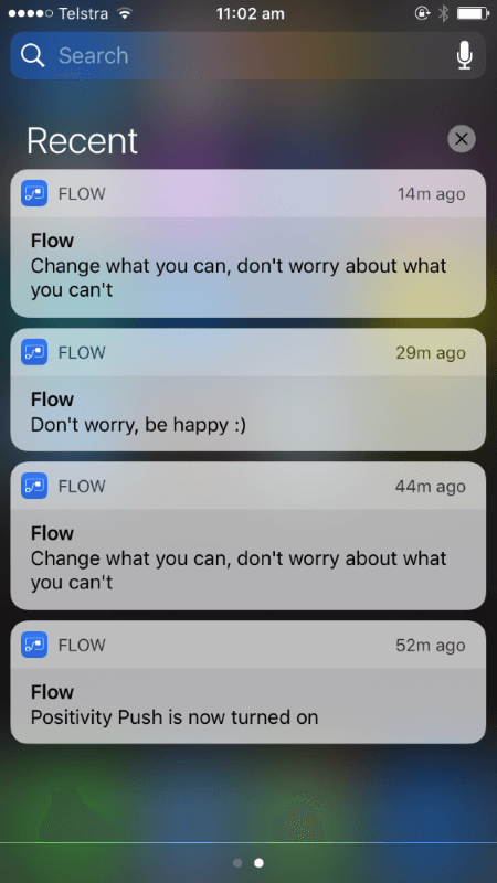 iOS push notifications from Microsoft Flow